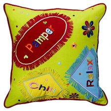 <strong>Bacati</strong> Sunshine Embroidered Decorative Pillow