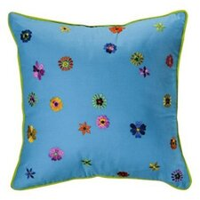 <strong>Bacati</strong> Valley of Flowers Decorative Pillow