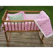 Summer Garden Cradle Bedding Collection