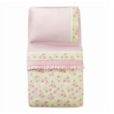 <strong>Bacati</strong> Flower Basket Pink and Green Toddler Bedding Collection
