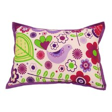 <strong>Bacati</strong> Botanical Sanctuary Decorative Pillow