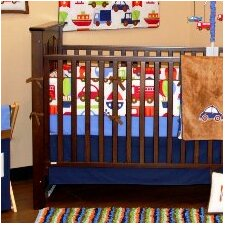 Transportation Crib Fitted Sheet