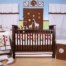 Baby and Me 10 Piece Crib Bedding Set with Bumper