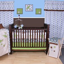 Camo Air Printed Crib Fitted Sheet (Set of 2)