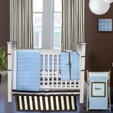 <strong>Bacati</strong> Quilted Circles 3 Piece Crib Bedding Collection