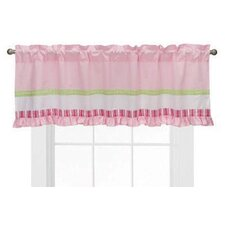 <strong>Bacati</strong> Girls Stripes and Plaids Cotton Blend Curtain Valance