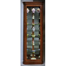<strong>Philip Reinisch Co.</strong> Lighthouse Octave Corner Curio Cabinet