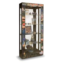 <strong>Philip Reinisch Co.</strong> ArtWorks Water Lilies Curio Cabinet