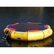 <strong>Island Hopper</strong> 13' Bounce and Splash Padded Water Bouncer