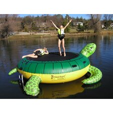 <strong>Island Hopper</strong> 13' Turtle Padded Water Bouncer