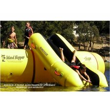 Water Trampoline Slide