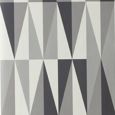 <strong>ferm LIVING</strong> Spear Wallsmart Geometric Wallpaper