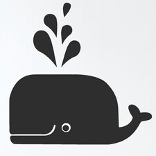 <strong>ferm LIVING</strong> Whale Wall Decal
