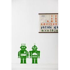 Robot Wallsticker