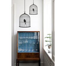 Large Birdcage Wall Sticker