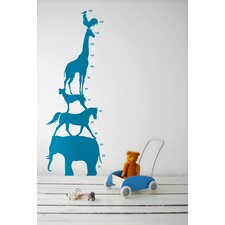 <strong>ferm LIVING</strong> KIDS Animal Tower Wall Decal