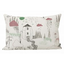<strong>ferm LIVING</strong> In the Rain Organic Cotton Cushion