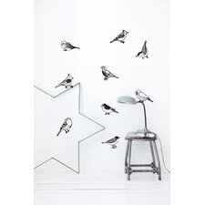 Drawing Birds Wall Sticker