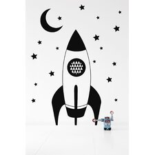 <strong>ferm LIVING</strong> Rocket Wall Decal