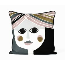 Mrs. Cushion Silk Accent Pillow