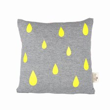Raindrop Cotton Accent Pillow