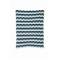 Zag Knitted Cotton Blanket