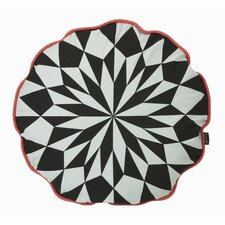 Star Round Organic Cotton Cushion