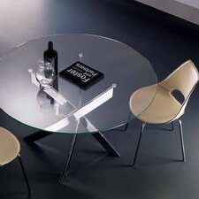 Barone 3 Piece Round Dining Table with Shark Chairs