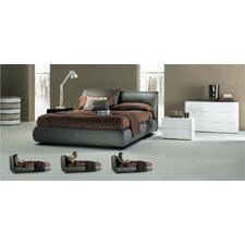 <strong>Bontempi Casa</strong> Malou Queen Platform Storage Bed