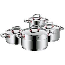 4-tlg. Kochgeschirrset Premium One aus Edelstahl