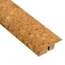 "0.5"" x 2"" Cork Hard Surface Reducer Molding in Natural"