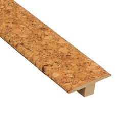 "0.44"" x 1.75"" Cork T-Molding in Natural"