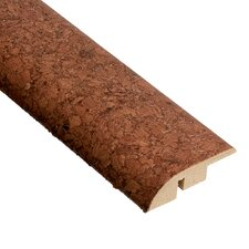 "0.5"" x 1.75"" Cork Hard Surface Reducer Molding in Mocha"