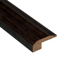 "Renew and Restore 0.38"" x 2.13"" Bamboo Carpet Reducer Molding in Espresso"