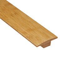 "0.44"" x 2"" Woven Bamboo T-Molding in Natural"