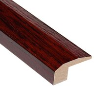 "0.38"" x 2.13"" Teak Carpet Reducer in Cherry"