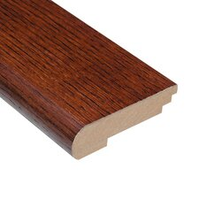 "0.75"" x 3.5"" Oak Stair Nose in Toast"