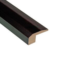 "0.31"" x 2.13"" Walnut Carpet Reducer in Java"
