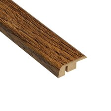 "0.5"" x 1.25"" Laminate Oak Carpet Reducer in Caramel"