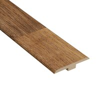 "0.25"" x 1.44"" Laminate T-Molding in Palace Oak Light"