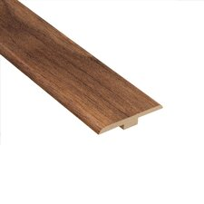 "0.25"" x 1.44"" Laminate T-Molding in Walnut Plateau"