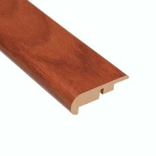 "0.44"" x 2.25"" Laminate Stair Nose in Santos Mahogany"