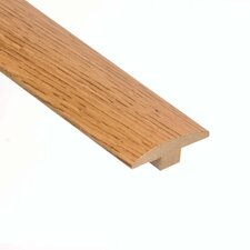 "0.38"" x 2"" Oak T-Molding in Summer"
