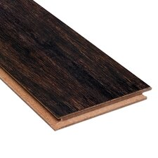 "Renew and Restore 4-3/4"" Engineered Strand Woven Bamboo Flooring in Espresso"