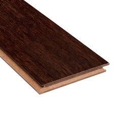 "Renew and Restore  4-3/4"" Engineered Strand Woven Bamboo Flooring in Walnut"