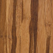"Tropical 3-7/8"" Solid Strand Woven Bamboo Flooring in Tigerstripe"