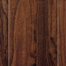 "Hardwood 3-1/2"" Solid Elm Flooring in Walnut"