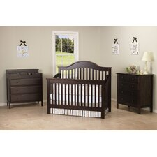 Jayden 4-in-1 Convertible Crib Set with Toddler Rail
