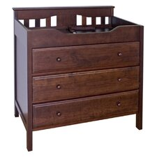 Jayden 3-Drawer Changer Dresser