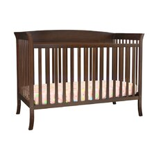 Tyler 4-in-1 Convertible Crib 5 Piece Nursery Set